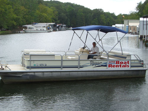 Pontoon Rentals - Pickwick Lake Rental Boat
