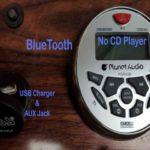 round bluetooth marine radio